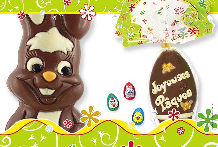 Fournisseur officiel des chocolats de Pâques